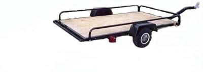 Golf cart or single atv trailer